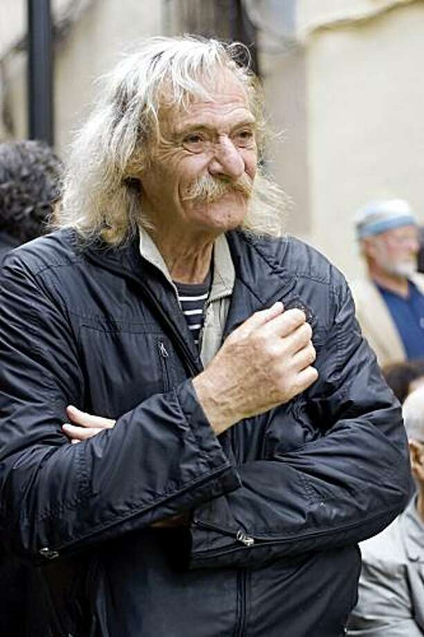 Jack Hirschman, creator of the San Francisco International Poetry Festival and former SF Poet Laureate  Courtesy of Friends of the San Francisco Public Library Photo: Courtesy, Friends Of The SF Public Library