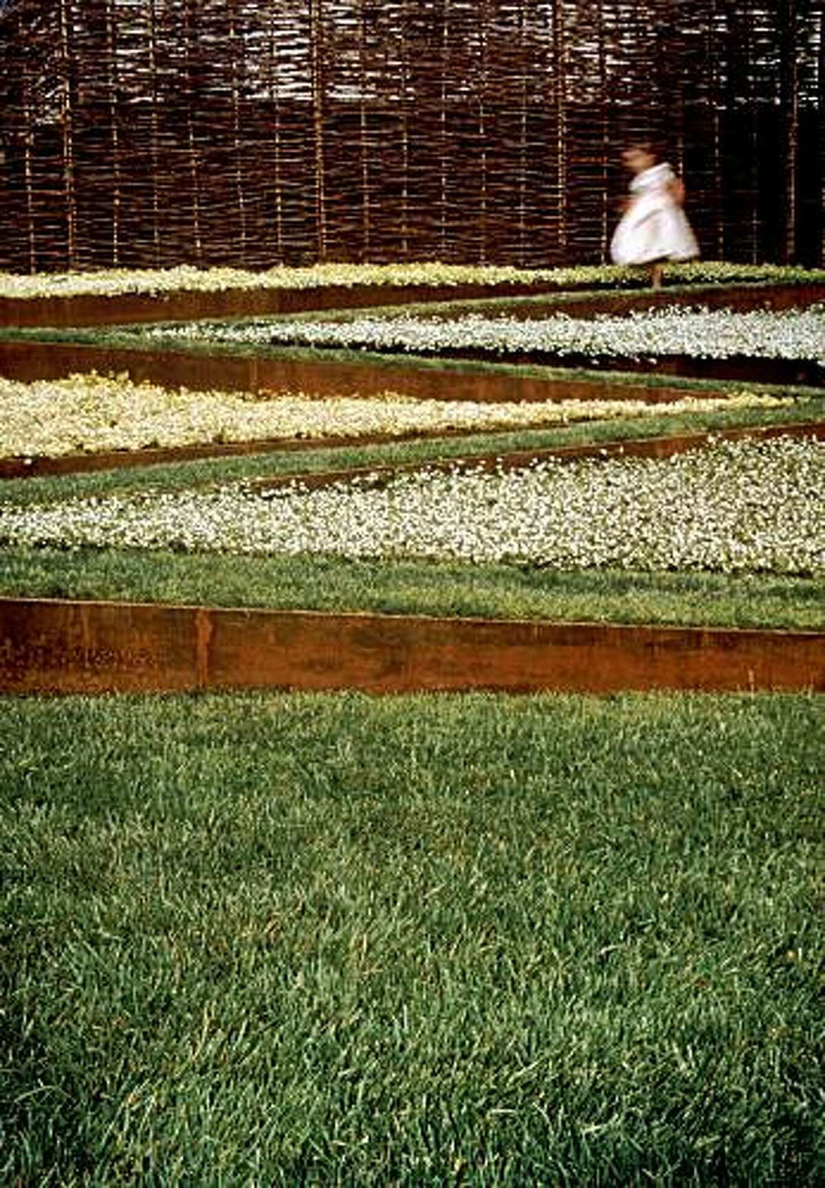 Andrea Cochran uses modernist principles to create designs, such as the Children's Garden.