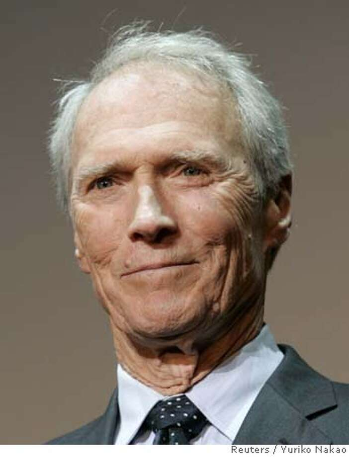 "###Live Caption:clint eastwood###Caption History:Actor and director Clint Eastwood attends the premiere of his film ""Letters from Iwo Jima"" in Tokyo in this November 15, 2006 file photo. Eastwood received his nomination on January 23, 2007 for best director at the 79th annual Academy Awards, which are to be presented on February 25, 2007. REUTERS/Yuriko Nakao/Files (JAPAN)  Ran on: 02-03-2007  Clint Eastwood will be honored for &quo;the decency and goodness of spirit in his moviemaking.&quo;  Ran on: 06-13-2007  State coastal commissioners tour the Del Monte Forest in Pebble Beach in March 2006.  ALSO Ran on: 07-01-2007  Clint Eastwood is essentially a libertarian, not a conservative.###Notes:###Special Instructions:0 Photo: YURIKO NAKAO"