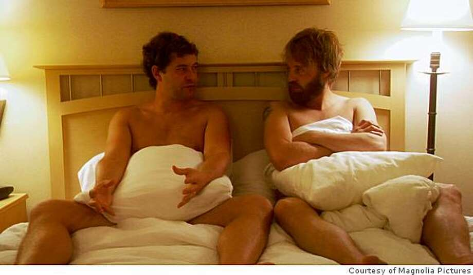 "Mark Duplass and Joshua Leonard starred in Lynn Shelton's 2009 film ""Humpday,"" about two straight friends who decide to make an amateur gay porn movie. Photo: Courtesy Of Magnolia Pictures"