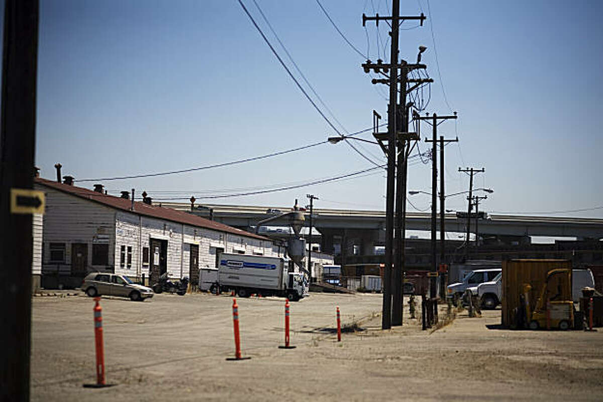 Film29, an Oakland film center and collective that houses about 30 film production companies, located on the Oakland Army Base, hopes to stay at their facilities despite new development plans for the base, in Oakland, on Monday, July 27, 2009.