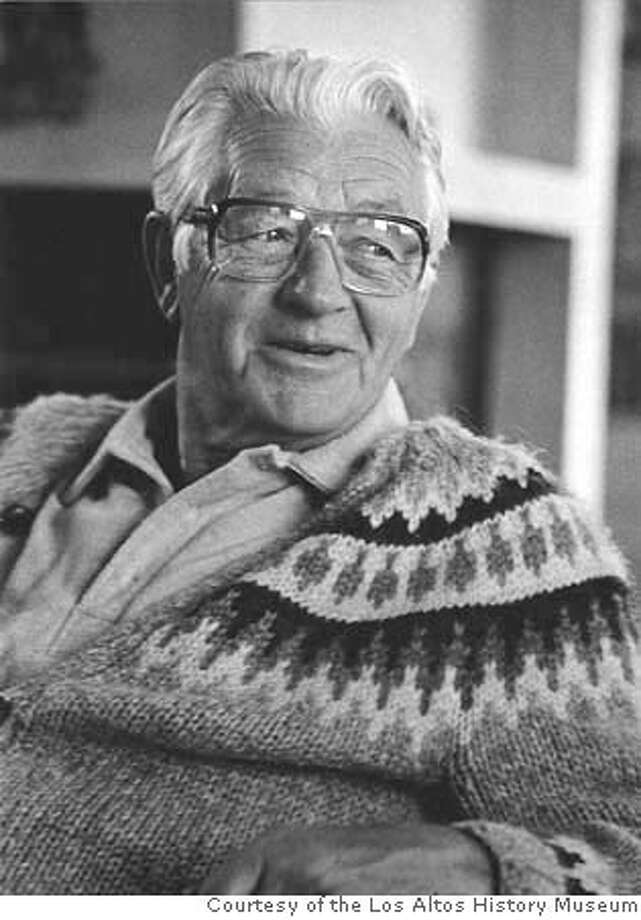 ###Live Caption:Wallace Stegner was a native of Canada who set most of his fiction in the West. He was a dedicated environmentalist. Photo Courtesy of the Los Altos History Museum###Caption History:Photo of Wallace Stegner. Photo of Courtesy Los Altos History Museum Ran on: 03-11-2005  Wallace Stegner, above and right, was a native of Canada who set most of his fiction in the West. He was a dedicated environmentalist.###Notes:###Special Instructions: Photo: Los Altos History Museum