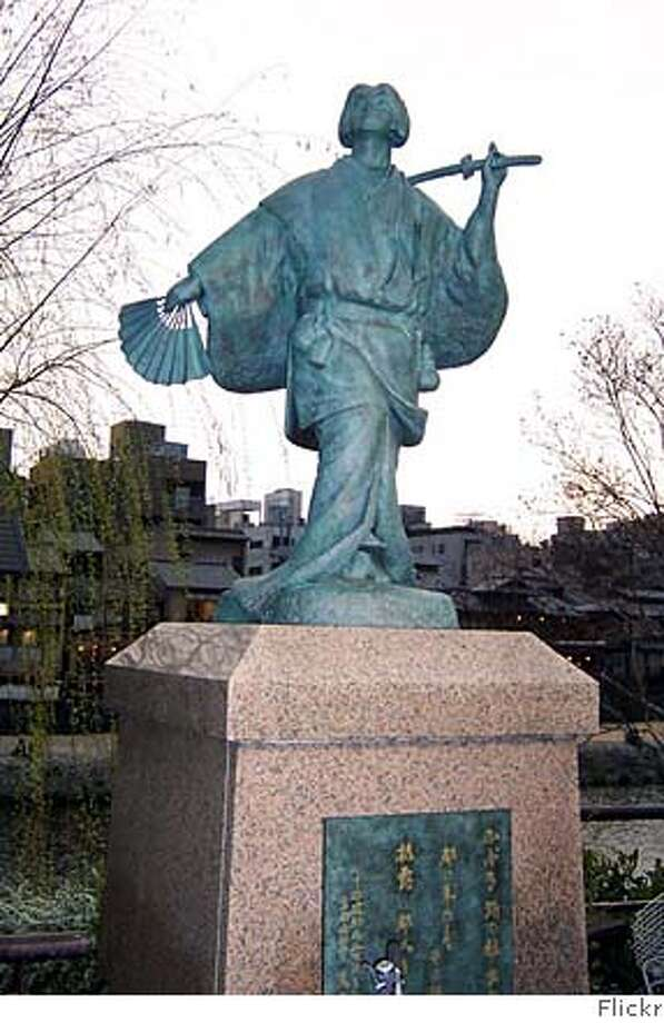 ###Live Caption:Statue of Izumo no Okuni in Kyoto Japan. Okuni was an actress/playwright who founded the kabuki theater movement.###Caption History:Statue of Izumo no Okuni in Kyoto Japan. Okuni was an actress/playwright who founded the kabuki theater movement.###Notes:###Special Instructions: Photo: Commons.wickimedia.com