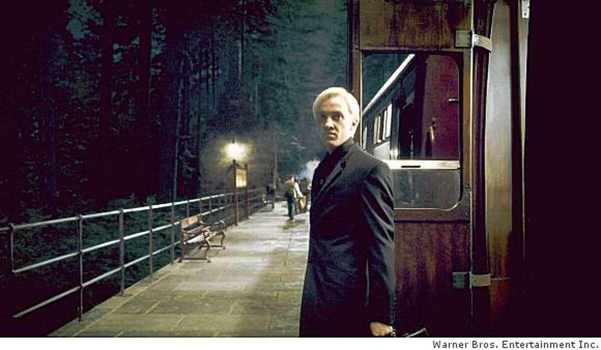 TOM FELTON as Draco Malfoy in Warner Bros. Pictures' fantasy adventure