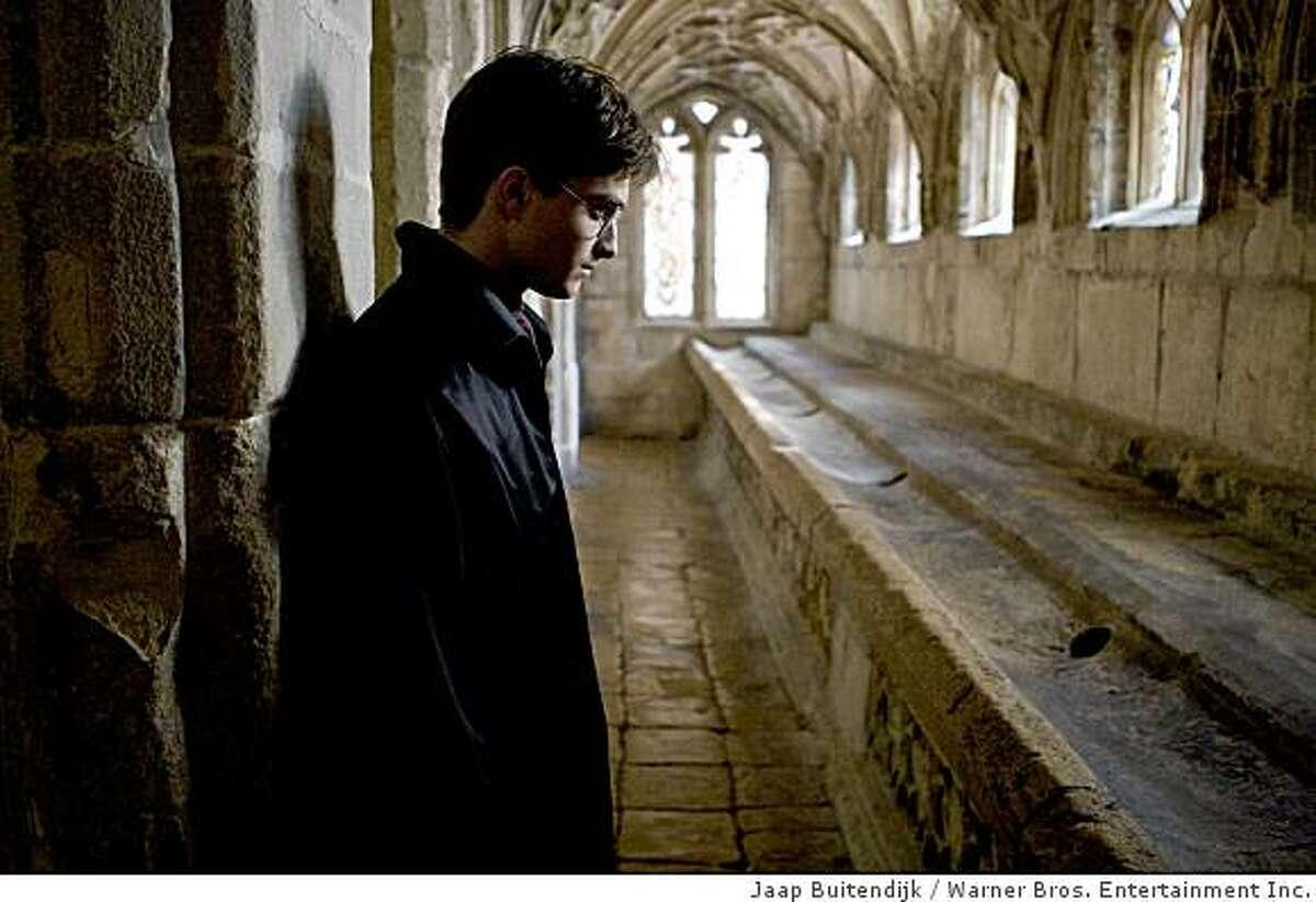 DANIEL RADCLIFFE as Harry Potter in Warner Bros. Pictures' fantasy adventure