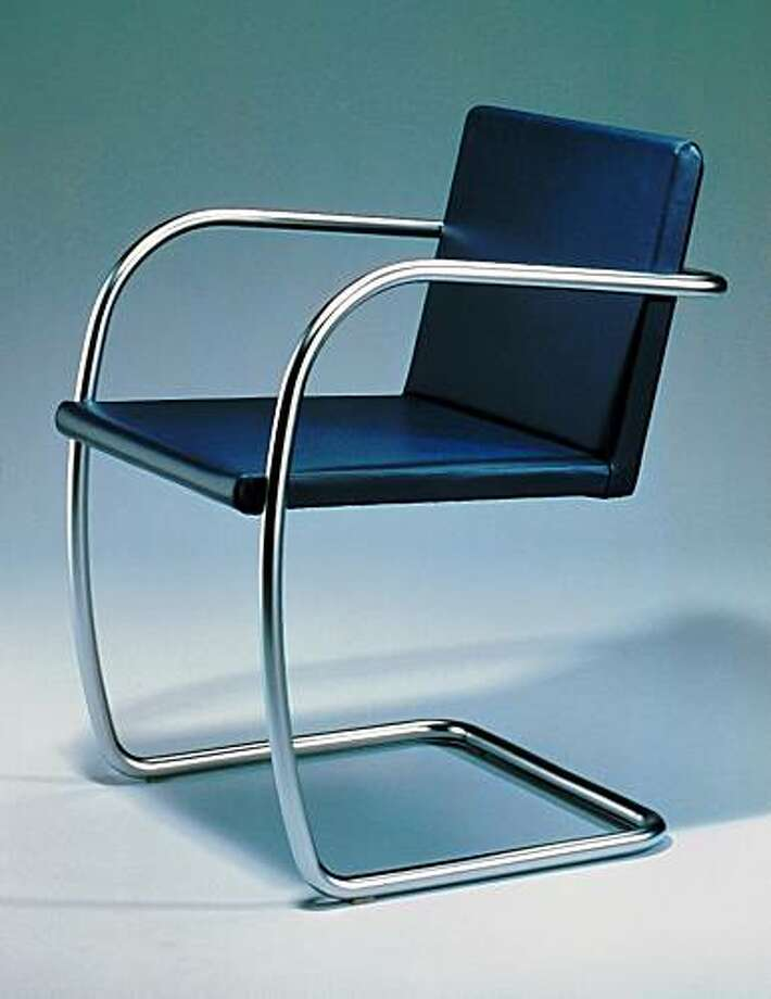 Brno Tubular Chair by Mies Photo: Knoll