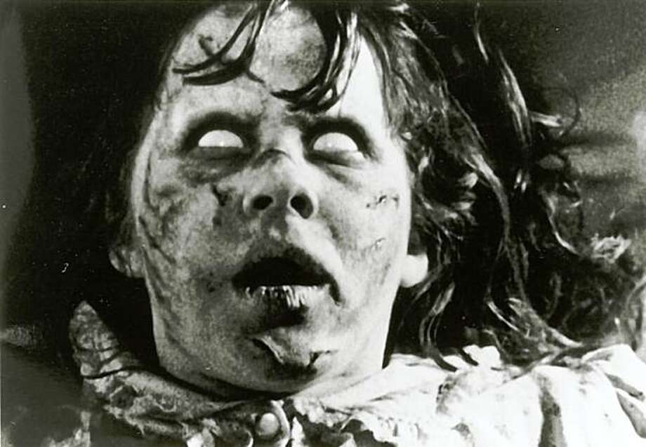 """Linda Blair in """"The Exorcist."""" Photo: Chronicle File Photo"""