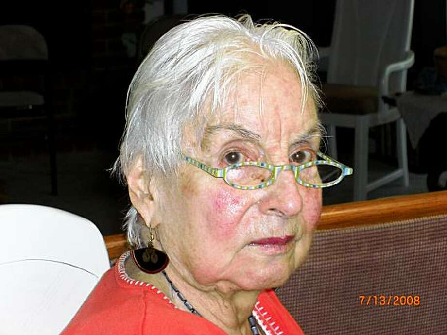 Artist Cecile McCann died July 2, 2009. Photo: Courtesy Of McCann Family