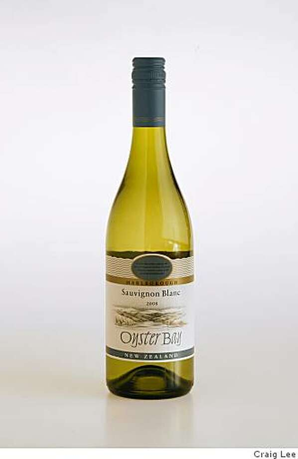 2008 Oyster Bay Marlborough Sauvignon Blanc. Summer White Wines $15 and less. Photo by Craig Lee/Special to the Chronicle Photo: Craig Lee