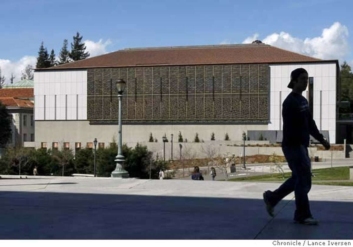 ###Live Caption:The new UC Berkeley Asian Library photographed in Berkeley, Thursday March 13, 2008, Photo By Lance Iversen / San Francisco Chronicle.###Caption History:The new UC Berkeley Asian Library photographed in Berkeley, Thursday March 13, 2008, Photo By Lance Iversen / San Francisco Chronicle.###Notes:Lance Iversen 415-2979395 CQ Ellis###Special Instructions:MANDATORY CREDIT PHOTOG AND SAN FRANCISCO CHRONICLE.