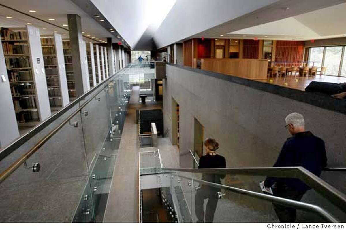 ###Live Caption:The interior of the new UC Berkeley Asian Library photographed in Berkeley, Thursday March 13, 2008, showing the stacks area on the left and reading area on right. Photo By Lance Iversen / San Francisco Chronicle.###Caption History:The interior of the new UC Berkeley Asian Library photographed in Berkeley, Thursday March 13, 2008, showing the stacks area on the left and reading area on right. Photo By Lance Iversen / San Francisco Chronicle.###Notes:Lance Iversen 415-2979395 CQ Ellis###Special Instructions:MANDATORY CREDIT PHOTOG AND SAN FRANCISCO CHRONICLE.