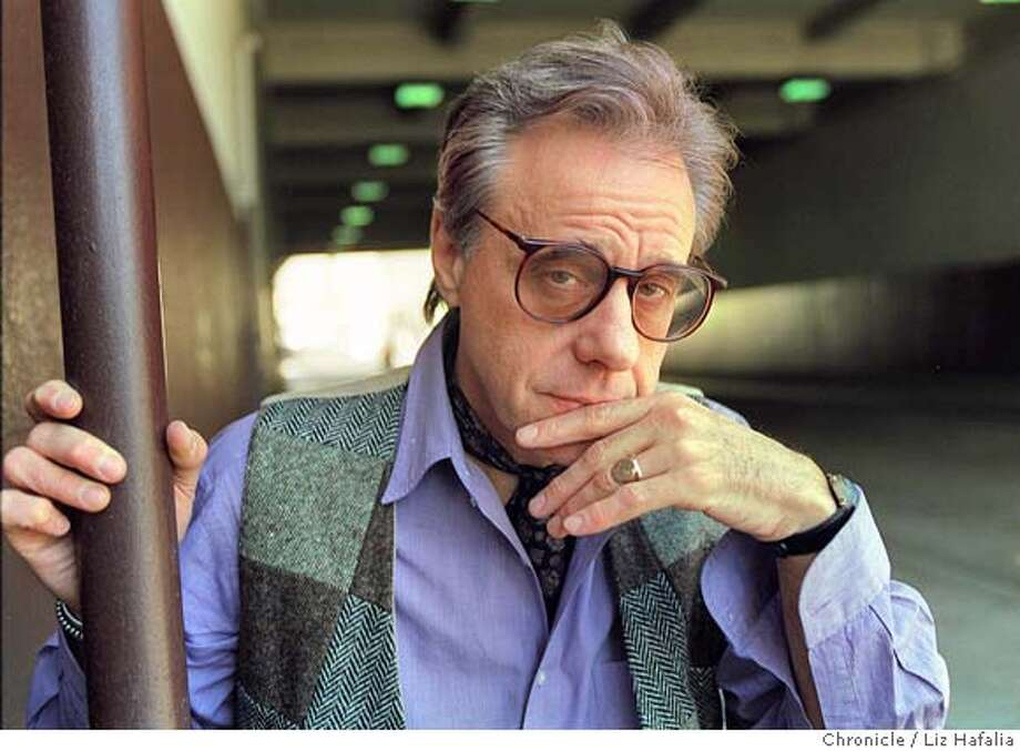 BOGDANOVICH/C/15APR97/DD/LH--Director Peter Bogdanovich has a new book made up of interviews with famous directors. Liz Hafalia Photo: LIZ HAFALIA