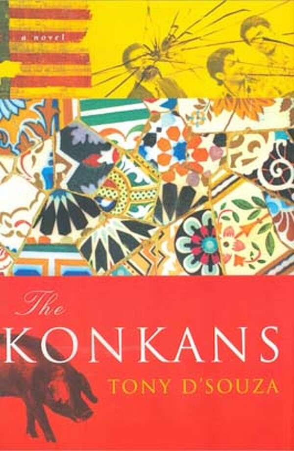 The Konkans (Hardcover)  by Tony D'Souza (Auth Photo: Harcourt