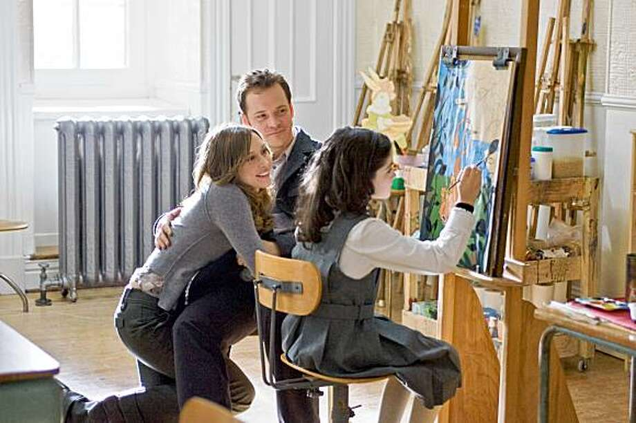 "VERA FARMIGA as Kate, PETER SARSGAARD as John and ISABELLE FUHRMAN as Esther in Dark Castle Entertainment's horror thriller ""Orphan,"" a Warner Bros. Pictures release. (L-R) VERA FARMIGA as Kate, PETER SARSGAARD as John and ISABELLE FUHRMAN as Esther in Dark Castle EntertainmentÕs horror thriller ÒOrphan,Ó a Warner Bros. Pictures release. Photo: Warner Bros. Pictures"