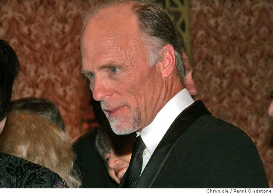 FESTIVAL29  actor Ed Harris talks with people  SF Film Festival's fancy awards dinner and ceremony honoring this year's winners: actor Ed Harris, director Werner Herzog and screenwriter Jean-Claude Carriere.  Penni Gladstone/The San Francisco Chronicle  Photo taken on 4/27/06, in San Francisco, CA.  Ran on: 03-10-2008  Ed Harris is scheduled to attend the world premiere of &quo;Touching Home,&quo; a film he co-stars in that was shot by self-taught twin filmmakers Logan and Noah Miller. Photo: Penni Gladstone
