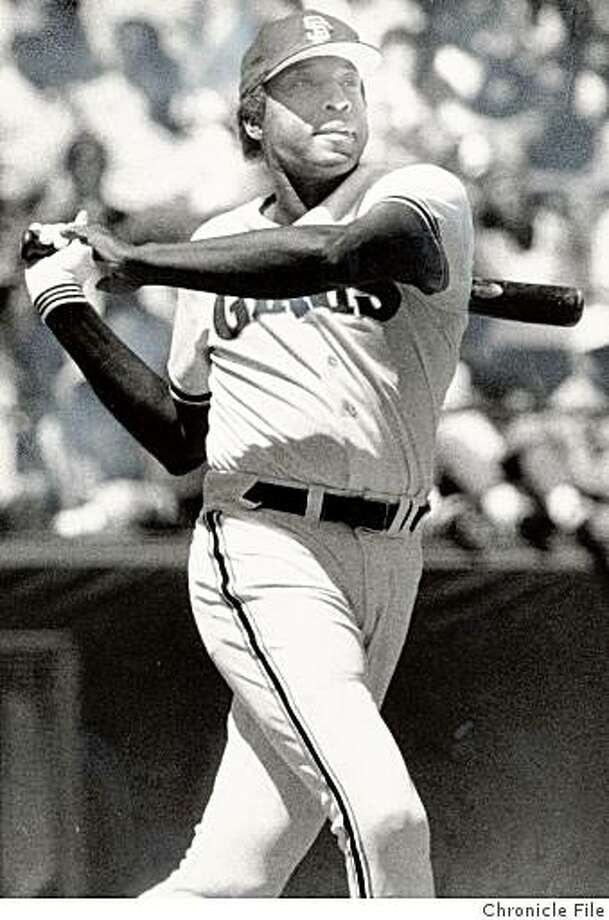 Willie McCovey began his Hall of Fame career with the Giants by going 4-for-4 in his first game in 1959. He hit .354 that season. Photo: Chronicle File