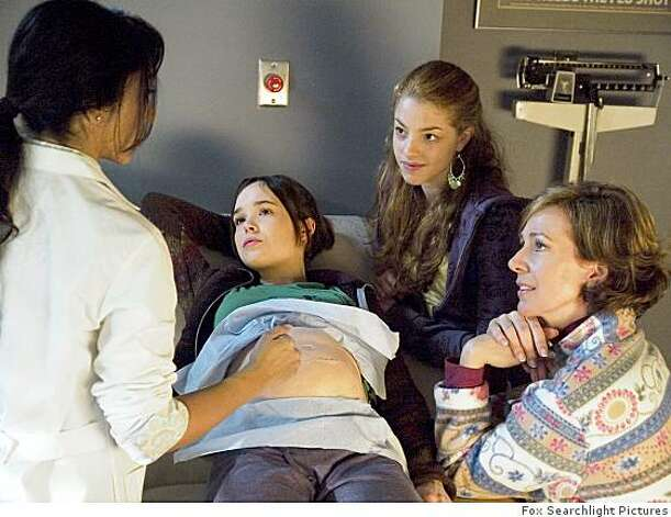 "From left: Ellen Page and Olivia Thirlby, and Allison Janney in ""Juno"". Photo: Fox Searchlight Pictures"