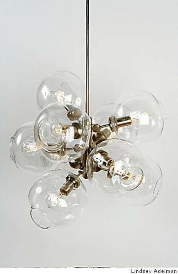 The 9-Globe Bubble Chandelier by Lindsey Adelman Photo: Lindsey Adelman