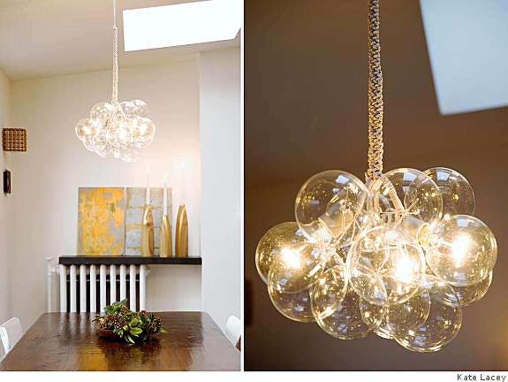 DIY bubble chandelier wont burst the bank SFGate – Diy Bubble Chandelier