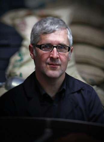 James Freeman is seen at his Blue Bottle Coffee Co. roasting plant in Emeryville, Calif., on Tuesday, June 30, 2009. Photo: Paul Chinn, The Chronicle