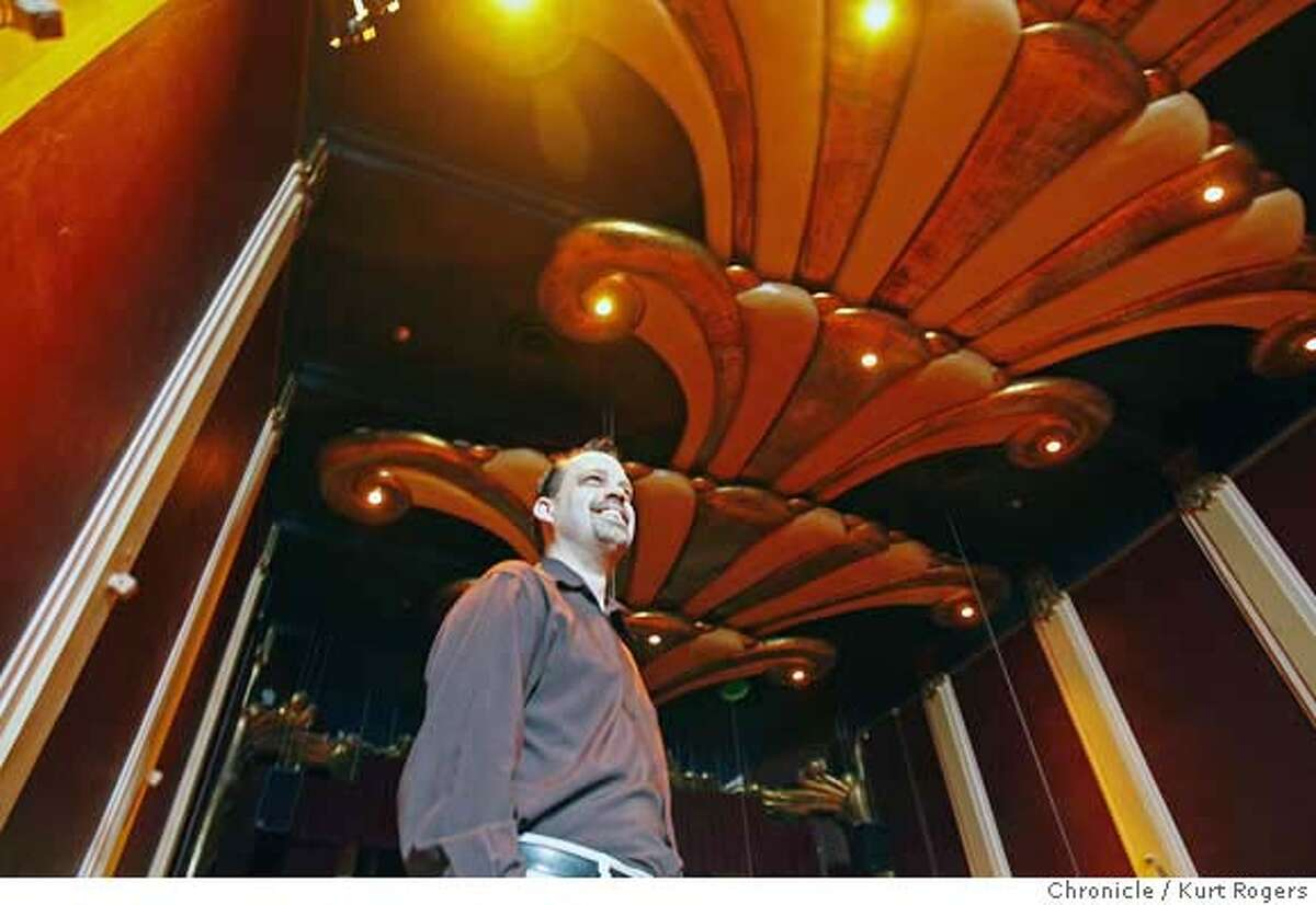 ###Live Caption:Randy Bobst-McKay, the general manager of the Empress Theater in downtown Vallejo, Calif., is getting ready for the theater's reopening on Wednesday March 5, 2008. The building went through a complete renovation for the March 15th reopening. Photo By Kurt Rogers / San Francisco Chronicle###Caption History:Randy Bobst-McKay the General manager of the empress theater in down town Vallejo is getting ready for it�s reopening the building went through a compleat reinvention. On Wednesday March 5, 2008 Photo By Kurt Rogers / San Francisco Chronicle###Notes:How Vallejo went from budding renaisance city to near-bankrupt in a coupal of years. Randy Bobst-McKay (cq)###Special Instructions:MANDATORY CREDIT FOR PHOTOG AND SAN FRANCISCO CHRONICLE/NO SALES-MAGS OUT