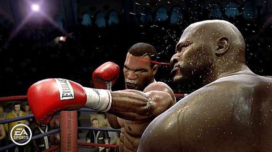 """A scene from """"Fight Night Round 4."""" Players can choose from dozens of historical fighters. (EA Sports via The New York Times)*EDITORIAL USE ONLY* Photo: EA Sports"""