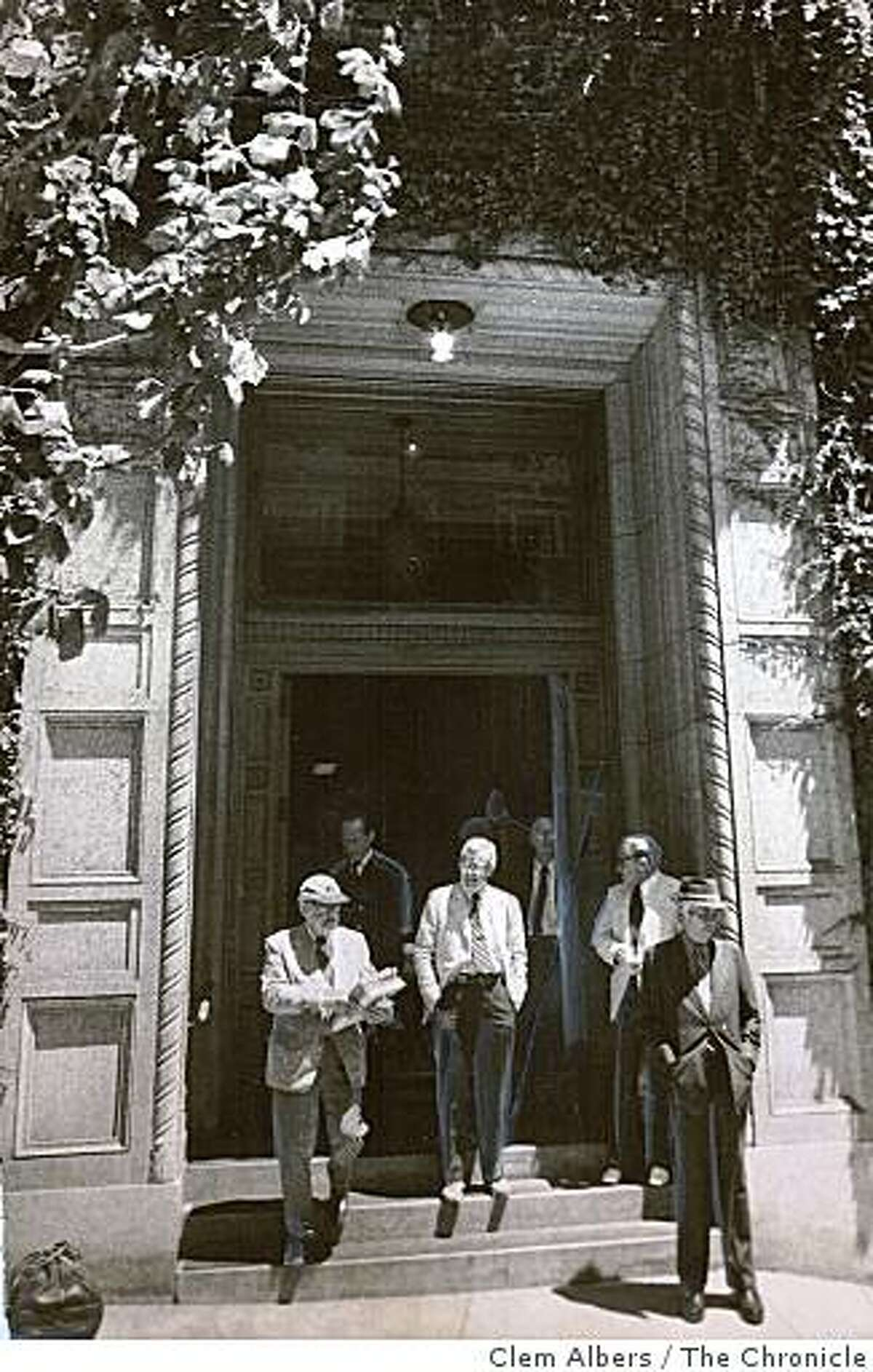 The Bohemian club on 624 Taylor Street in San Francisco on July 24, 1975