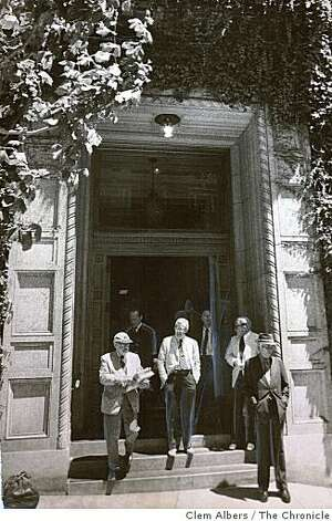 The Bohemian club on 624 Taylor Street in San Francisco on July 24, 1975 Photo: Clem Albers, The Chronicle