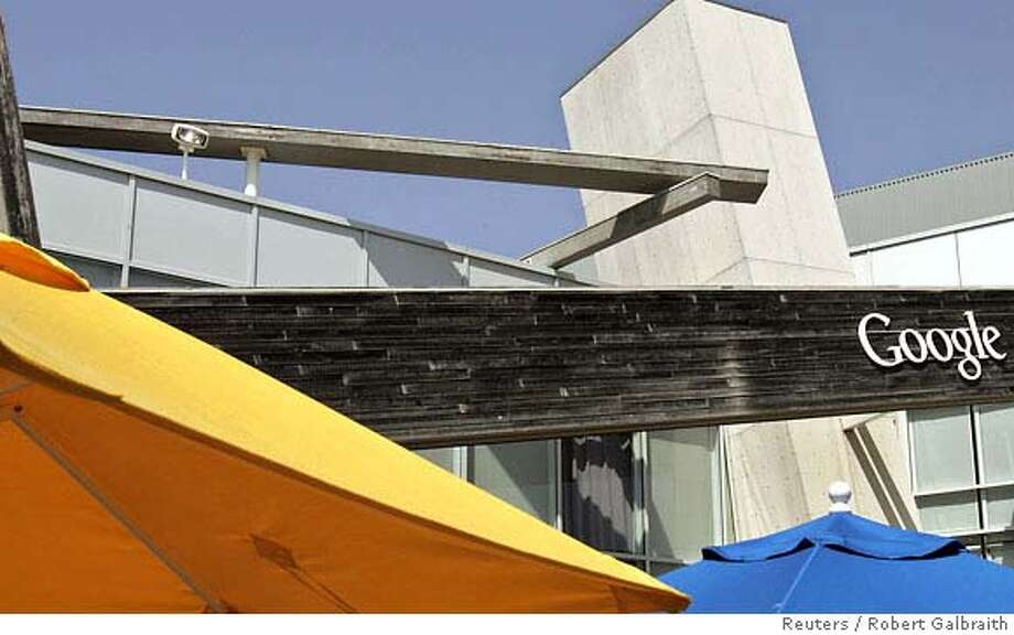 A general view of the Google headquarters in Mountain View, California May 15, 2007. REUTERS/Robert Galbraith (UNITED STATES)  Ran on: 05-26-2007  Google, with headquarters in Mountain View, is buying online advertising company DoubleClick. Photo: ROBERT GALBRAITH