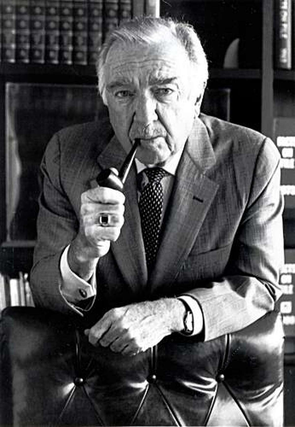 This undated picture shows Walter Cronkite in Tempe, Ariz. Walter Cronkite, the premier TV anchorman of the networks' golden age who reported a tumultuous time with reassuring authority and came to be called