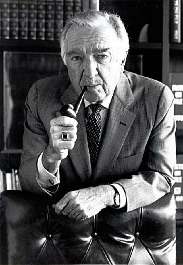 "This undated picture shows Walter Cronkite in Tempe, Ariz. Walter Cronkite, the premier TV anchorman of the networks' golden age who reported a tumultuous time with reassuring authority and came to be called ""the most trusted man in America,"" died Friday, July 17, 2009. He was 92. Photo: Arizona State University, AP"