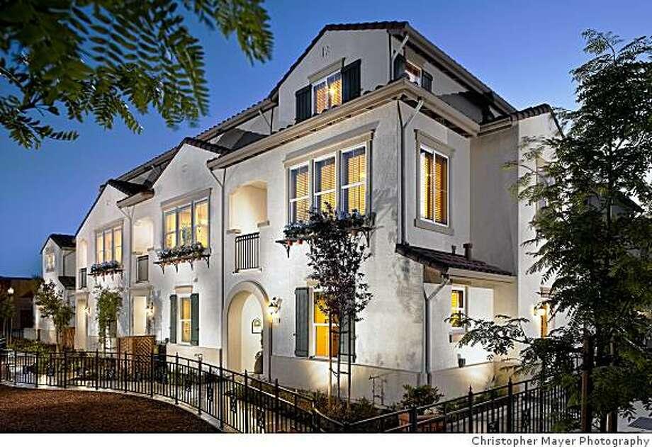 Model home: Town Center Villas in Milpitas - SFGate