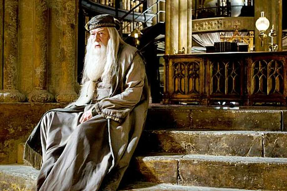 "In this film publicity image released by Warner Bros., Michael Gambon portrays Albus Dumbledore in  ""Harry Potter and the Half-Blood Prince."" Photo: Jaap Buitendjik, AP"