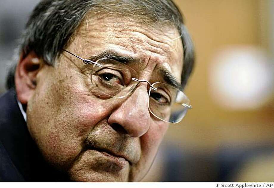New CIA Director Leon Panetta speaks with reporters, at CIA Headquarters in Langley, Va., Wednesday, Feb. 25, 2009. Panetta said Argentina, Ecuador and Venezuela are in dire economic straits and could be destabilized by the worldwide economic crisis.  (AP Photo/J. Scott Applewhite) Photo: J. Scott Applewhite, AP