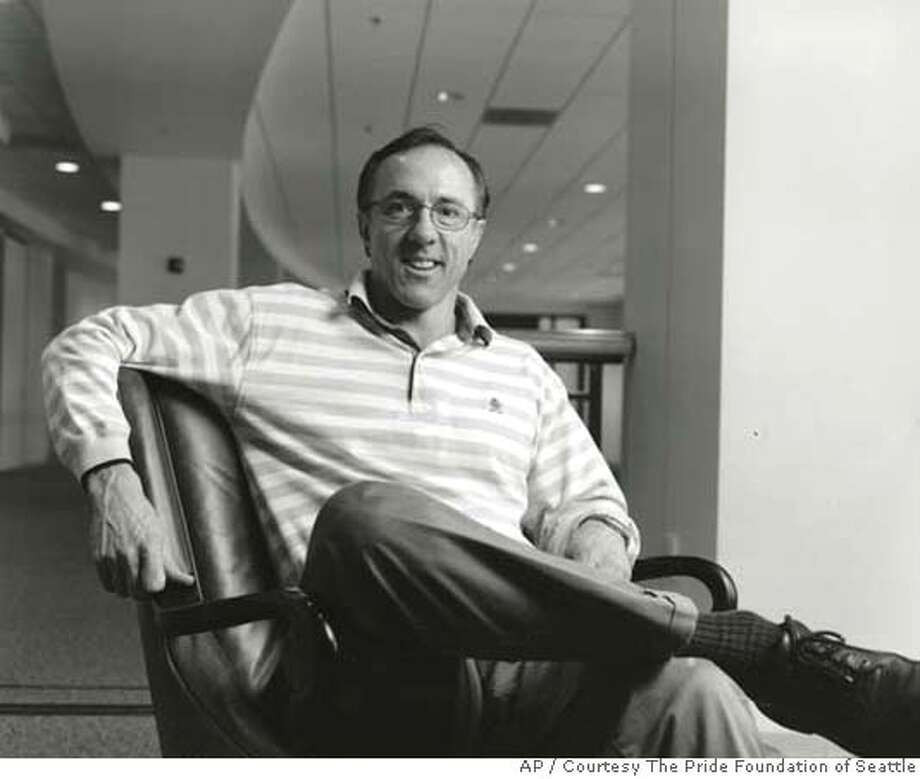 This 2004 photo of Ric Weiland released by the Pride Foundation of Seattle. The estate of Ric Weiland, a high school classmate of Microsoft Corp. founders Bill Gates and Paul Allen and one of the first five people to work at the software giant, has left US$65 million to gay rights and HIV/AIDS organizations. (AP Photo/ Courtesy The Pride Foundation of Seattle, HO) **NO SALES** THIS 2004 PHOTO OF RIC WEILAND RELEASED BY THE PRIDE FOUNDATION OF SEATTLE. NO SALES AP provides access to this publicly distributed HANDOUT photo to be used only to illustrate news reporting or commentary on the facts or events depicted in this image. Photo: Pride Foundation Of Seattle