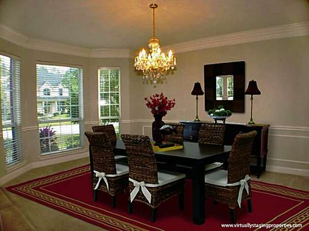 Virtual staging sparks sales of vacant homes sfgate - Rearrange my room virtual ...