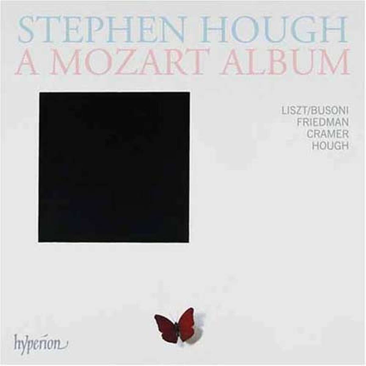 CD cover for Stephen Hough's