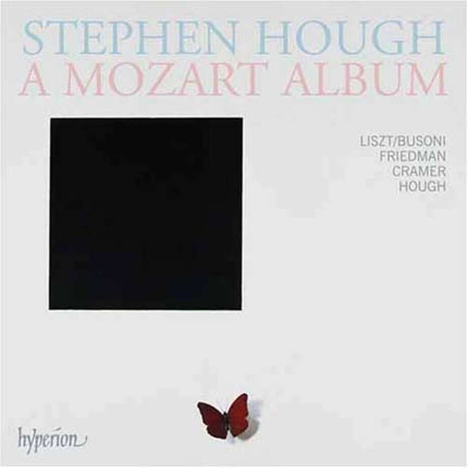 "CD cover for Stephen Hough's ""A Mozart Album"" 2008 Ran on: 03-09-2008 Photo: Hyperion Records"