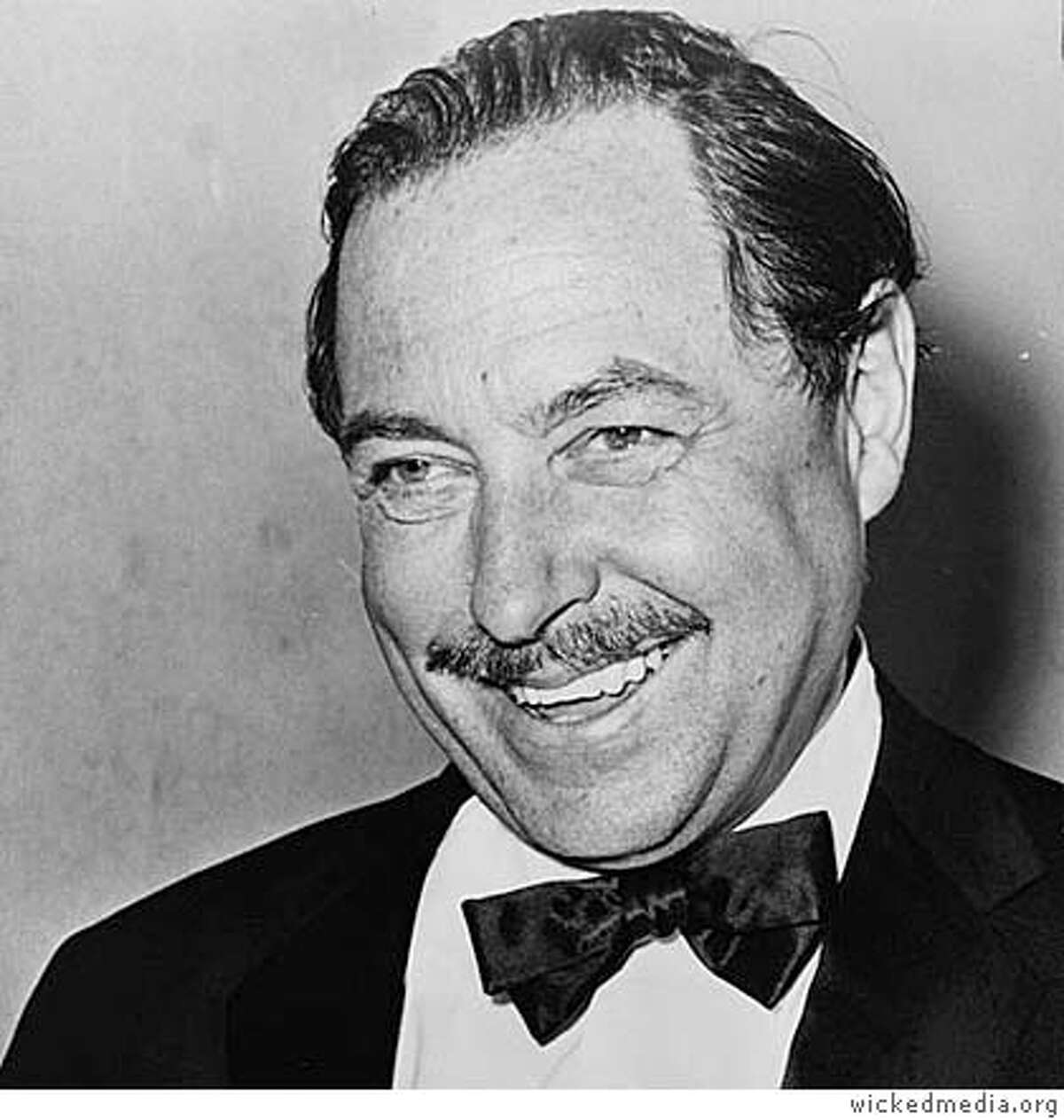 Tennessee Williams, date unknown