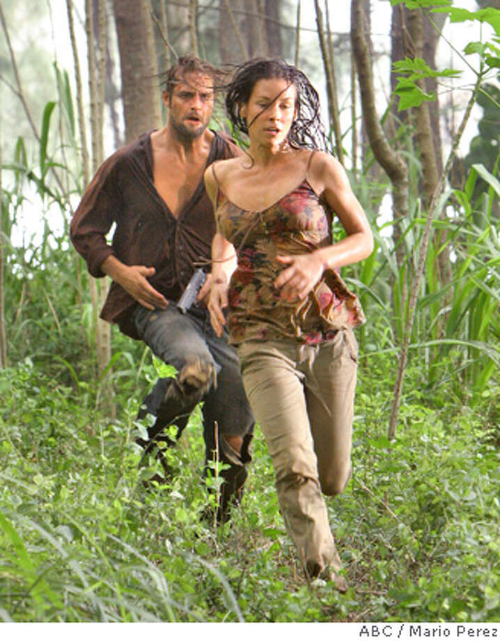"LOST - Awarded the 2005 Emmy and 2006 Golden Globe for best drama series, and a 2007 Golden Globe nomination for best drama series and best actress for Evangeline Lilly, ""Lost"" returns for the second act of its third season of action-packed mystery and adventure -- that will continue to bring out the very best and the very worst in the people who are lost -- WEDNESDAY, FEBRUARY 7 (10:00-11:00 p.m., ET), on the ABC Television Network. In the return episode, ""Not in Portland,"" Jack is in command as the fate of Ben's life literally rests in his hands. Meanwhile, Kate and Sawyer find an ally in one of ""The Others,"" and Juliet makes a shocking decision that could endanger her standing with her people. (ABC/MARIO PEREZ)  JOSH HOLLOWAY, EVANGELINE LILLY  Ran on: 02-07-2007  Sawyer (Josh Holloway) and &quo;Lost&quo; return tonight. Photo: MARIO PEREZ"