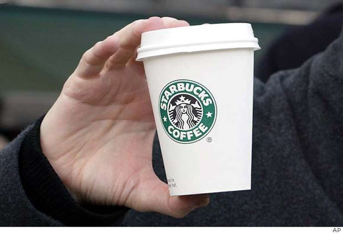 Starbucks coffee. Associated Press photo