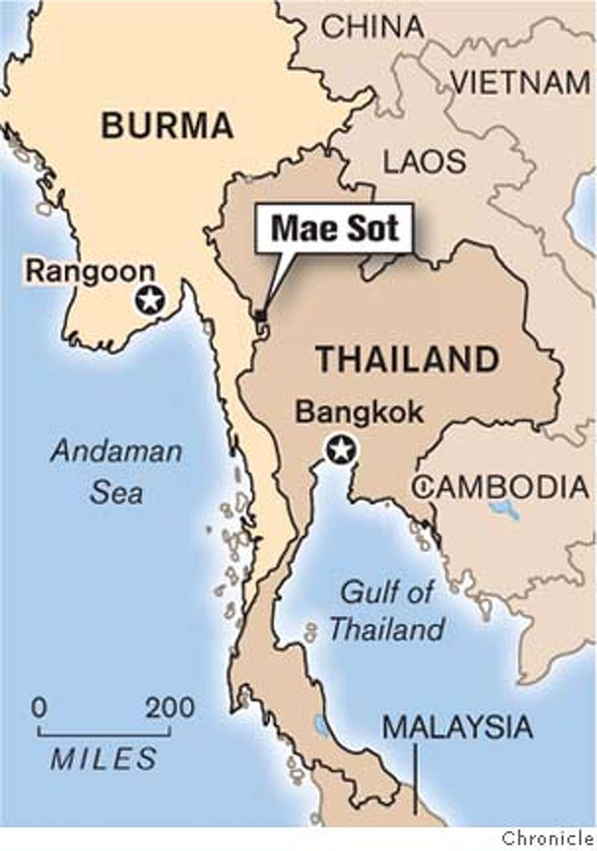 Mae Sot. Chronicle Graphic