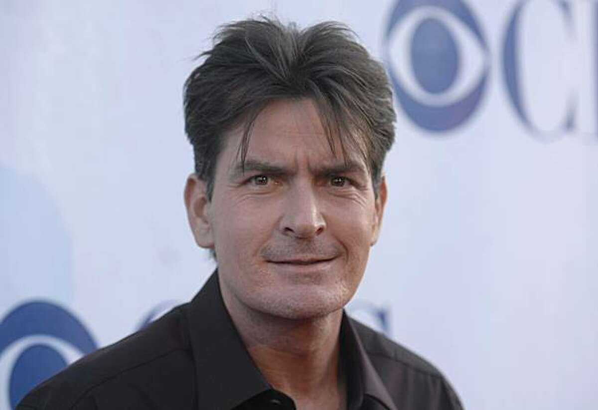 Actor Charlie Sheen, from