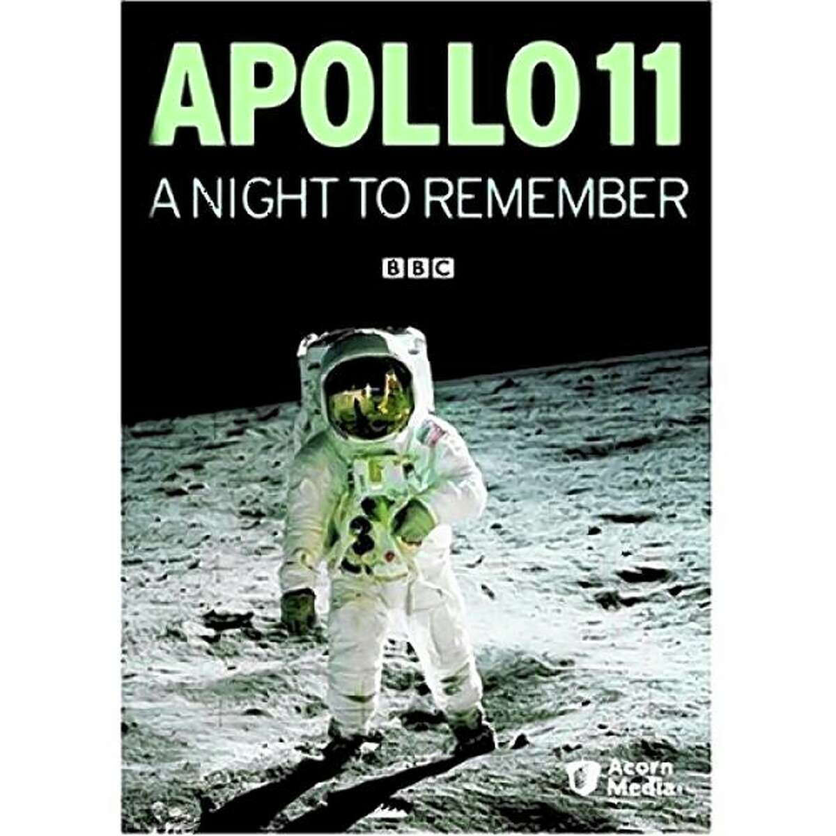 dvd cover: Apollo 11: A Night to Remember