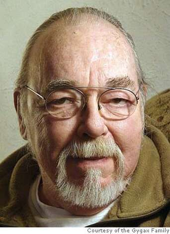 (NYT63) UNDATED -- March 4, 2008 -- OBIT-GYGAX-2 -- An undated photo of Gary Gygax. Gygax, a pioneer of the imagination who transported a fantasy realm of wizards, goblins and elves onto millions of kitchen tables around the world through the game he helped create, Dungeons & Dragons, died Tuesday, March 4, 2008 at his home in Lake Geneva, Wis. He was 69. His death was confirmed by his wife, Gail Gygax, who said he had been ailing and had recently suffered an abdominal aneurysm, The Associated Press reported. (Courtesy of the Gygax Family via The New York Times)**ONLY FOR USE WITH STORY BY SETH SCHIESEL SLUGGED: OBIT-GYGAX. ALL OTHER USE PROHIBITED.  Ran on: 03-06-2008  Dungeons & Dragons players at an Indianapolis game convention. Co-creator Gary Gygax's fantasy world godfathered the role-playing games of today. Gygax died Tuesday at age 69. Photo: GYGAX FAMILY