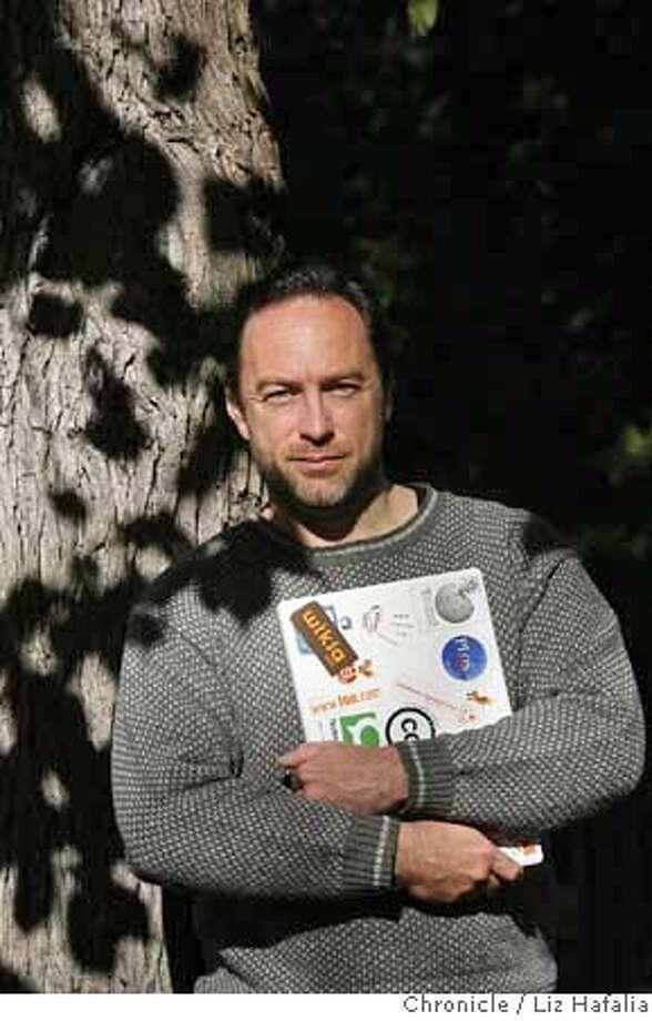###Live Caption:Jimmy Wales, the founder of Wikipedia  Liz Hafalia/The Chronicle/San Francisco/11/29/07  **Jimmy Wales cq###Caption History:WALES29_015_LH.JPG Jimmy Wales, the founder of Wikipedia  Liz Hafalia/The Chronicle/San Francisco/11/29/07  **Jimmy Wales cq###Notes:###Special Instructions:�2007, San Francisco Chronicle/ Liz Hafalia  MANDATORY CREDIT FOR PHOTOG AND SAN FRANCISCO CHRONICLE. NO SALES- MAGS OUT. Photo: Liz Hafalia