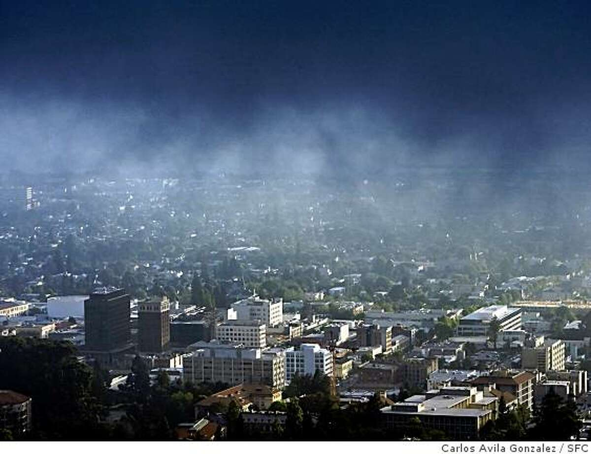 The Berkeley City Council is poised to dramatically increase the density of its downtown, raising heights throughout the area but also specifying nine towers, including three of up to 225 feet. Two buildings at Center St. and Shattuck Ave ‹ the Wells Fargo Bldg and the former