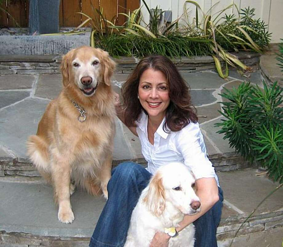 Celeste Perry and her dogs Ginger and Jake Photo: Courtesy Celeste Perry