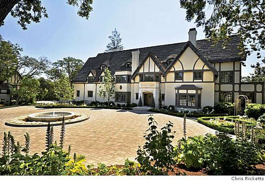 """The """"Sunnyridge"""" mansion in Los Gatos is on the market for $25 million. The main residence is an English Cotswold-style manor house designed by architect Ralph Wyckoff, who designed San Jose's main Post Office. Photo: Chris Ricketts"""