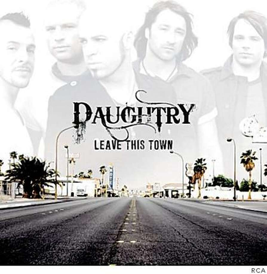 """Cover Art: Daughtry, """"Leave This Town"""" Photo: RCA"""